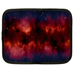 Astronomy Space Galaxy Fog Netbook Case (large)
