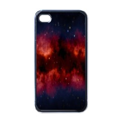 Astronomy Space Galaxy Fog Apple Iphone 4 Case (black) by Nexatart