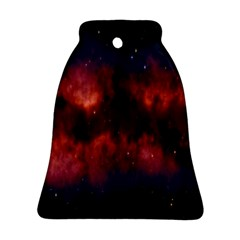 Astronomy Space Galaxy Fog Bell Ornament (two Sides) by Nexatart