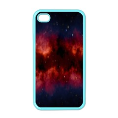 Astronomy Space Galaxy Fog Apple Iphone 4 Case (color) by Nexatart