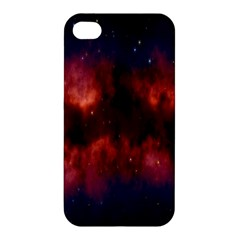 Astronomy Space Galaxy Fog Apple Iphone 4/4s Premium Hardshell Case by Nexatart