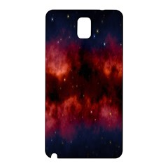 Astronomy Space Galaxy Fog Samsung Galaxy Note 3 N9005 Hardshell Back Case by Nexatart