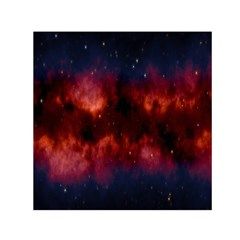 Astronomy Space Galaxy Fog Small Satin Scarf (square) by Nexatart