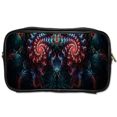 Abstract Background Texture Pattern Toiletries Bags 2 Side