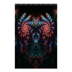 Abstract Background Texture Pattern Shower Curtain 48  X 72  (small)  by Nexatart