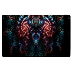 Abstract Background Texture Pattern Apple Ipad 2 Flip Case by Nexatart