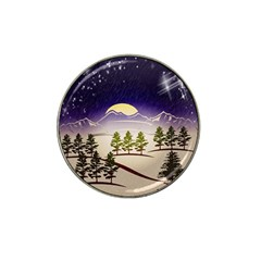 Background Christmas Snow Figure Hat Clip Ball Marker (10 Pack)