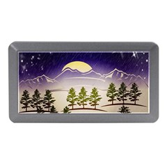 Background Christmas Snow Figure Memory Card Reader (mini) by Nexatart