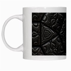 Emboss Luxury Artwork Depth White Mugs