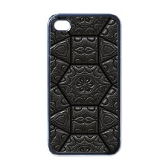 Emboss Luxury Artwork Depth Apple Iphone 4 Case (black)