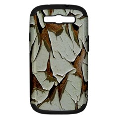 Dry Nature Pattern Background Samsung Galaxy S Iii Hardshell Case (pc+silicone) by Nexatart