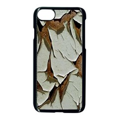 Dry Nature Pattern Background Apple Iphone 8 Seamless Case (black)