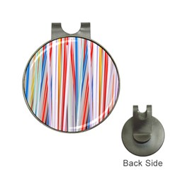 Background Decorate Colors Hat Clips With Golf Markers
