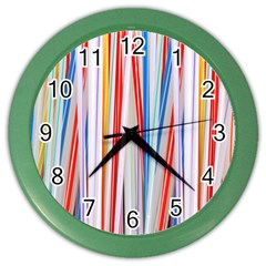 Background Decorate Colors Color Wall Clocks