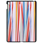 Background Decorate Colors Apple iPad Pro 9.7   Black Seamless Case Front