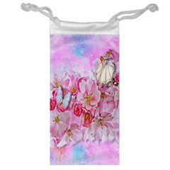 Nice Nature Flowers Plant Ornament Jewelry Bag