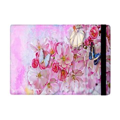 Nice Nature Flowers Plant Ornament Apple Ipad Mini Flip Case by Nexatart