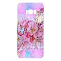 Nice Nature Flowers Plant Ornament Samsung Galaxy S8 Plus Hardshell Case  by Nexatart