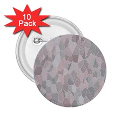 Pattern Mosaic Form Geometric 2 25  Buttons (10 Pack)  by Nexatart