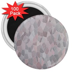 Pattern Mosaic Form Geometric 3  Magnets (100 Pack)
