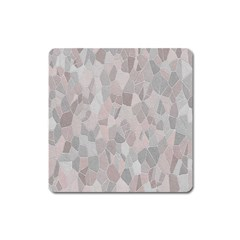 Pattern Mosaic Form Geometric Square Magnet