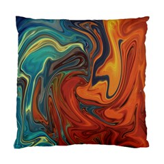 Creativity Abstract Art Standard Cushion Case (one Side) by Nexatart