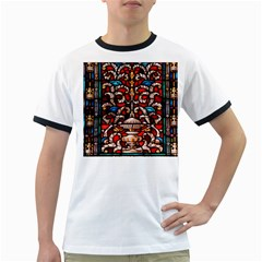 Decoration Art Pattern Ornate Ringer T Shirts