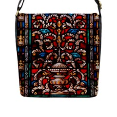 Decoration Art Pattern Ornate Flap Messenger Bag (l)