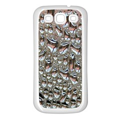 Droplets Pane Drops Of Water Samsung Galaxy S3 Back Case (white)
