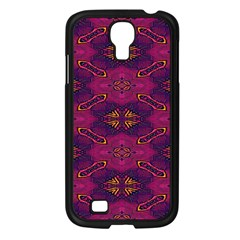 Pattern Decoration Art Abstract Samsung Galaxy S4 I9500/ I9505 Case (black)