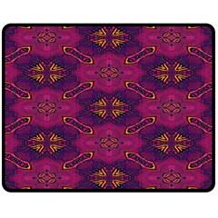 Pattern Decoration Art Abstract Double Sided Fleece Blanket (medium)  by Nexatart