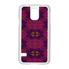 Pattern Decoration Art Abstract Samsung Galaxy S5 Case (white)