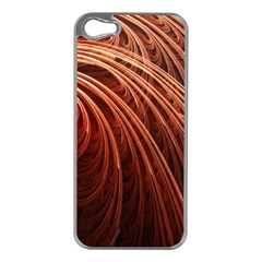 Abstract Fractal Digital Art Apple Iphone 5 Case (silver)