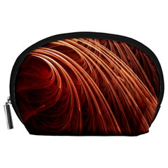 Abstract Fractal Digital Art Accessory Pouches (large)