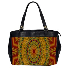 India Mystic Background Ornamental Office Handbags (2 Sides)
