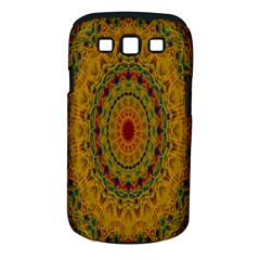 India Mystic Background Ornamental Samsung Galaxy S Iii Classic Hardshell Case (pc+silicone) by Nexatart