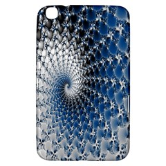 Mandelbrot Fractal Abstract Ice Samsung Galaxy Tab 3 (8 ) T3100 Hardshell Case