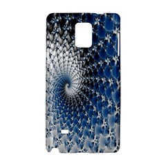 Mandelbrot Fractal Abstract Ice Samsung Galaxy Note 4 Hardshell Case by Nexatart