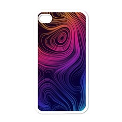 Abstract Pattern Art Wallpaper Apple Iphone 4 Case (white) by Nexatart