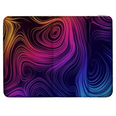Abstract Pattern Art Wallpaper Samsung Galaxy Tab 7  P1000 Flip Case by Nexatart