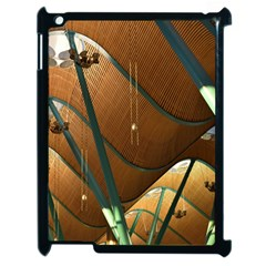 Airport Pattern Shape Abstract Apple Ipad 2 Case (black) by Nexatart
