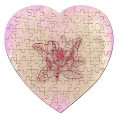 Desktop Background Abstract Jigsaw Puzzle (heart) by Nexatart