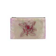 Desktop Background Abstract Cosmetic Bag (small)