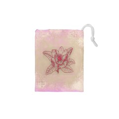 Desktop Background Abstract Drawstring Pouches (xs)