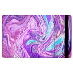 Abstract Art Texture Form Pattern Apple Ipad 2 Flip Case by Nexatart