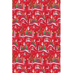 Red Background Christmas 5 5  X 8 5  Notebooks by Nexatart