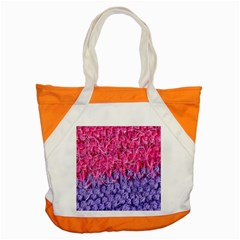 Wool Knitting Stitches Thread Yarn Accent Tote Bag