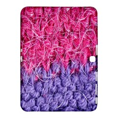 Wool Knitting Stitches Thread Yarn Samsung Galaxy Tab 4 (10 1 ) Hardshell Case  by Nexatart