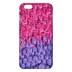 Wool Knitting Stitches Thread Yarn Iphone 6 Plus/6s Plus Tpu Case