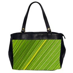 Leaf Plant Nature Pattern Office Handbags (2 Sides)  by Nexatart